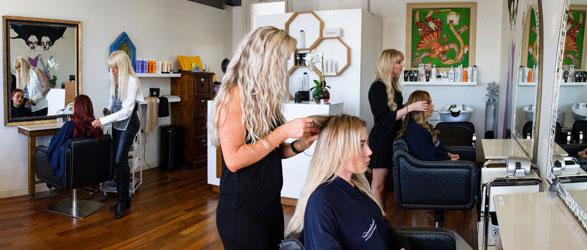Naomi-Panizza-Hair-Extension-Perth-Studio-at-work